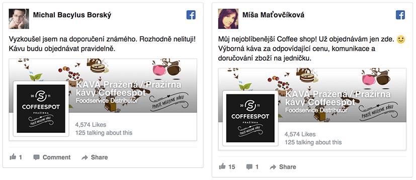 Facebook hoodnocení