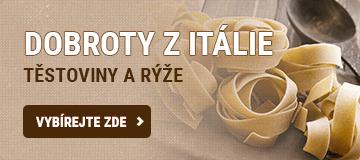 Italské těstoviny a rýže