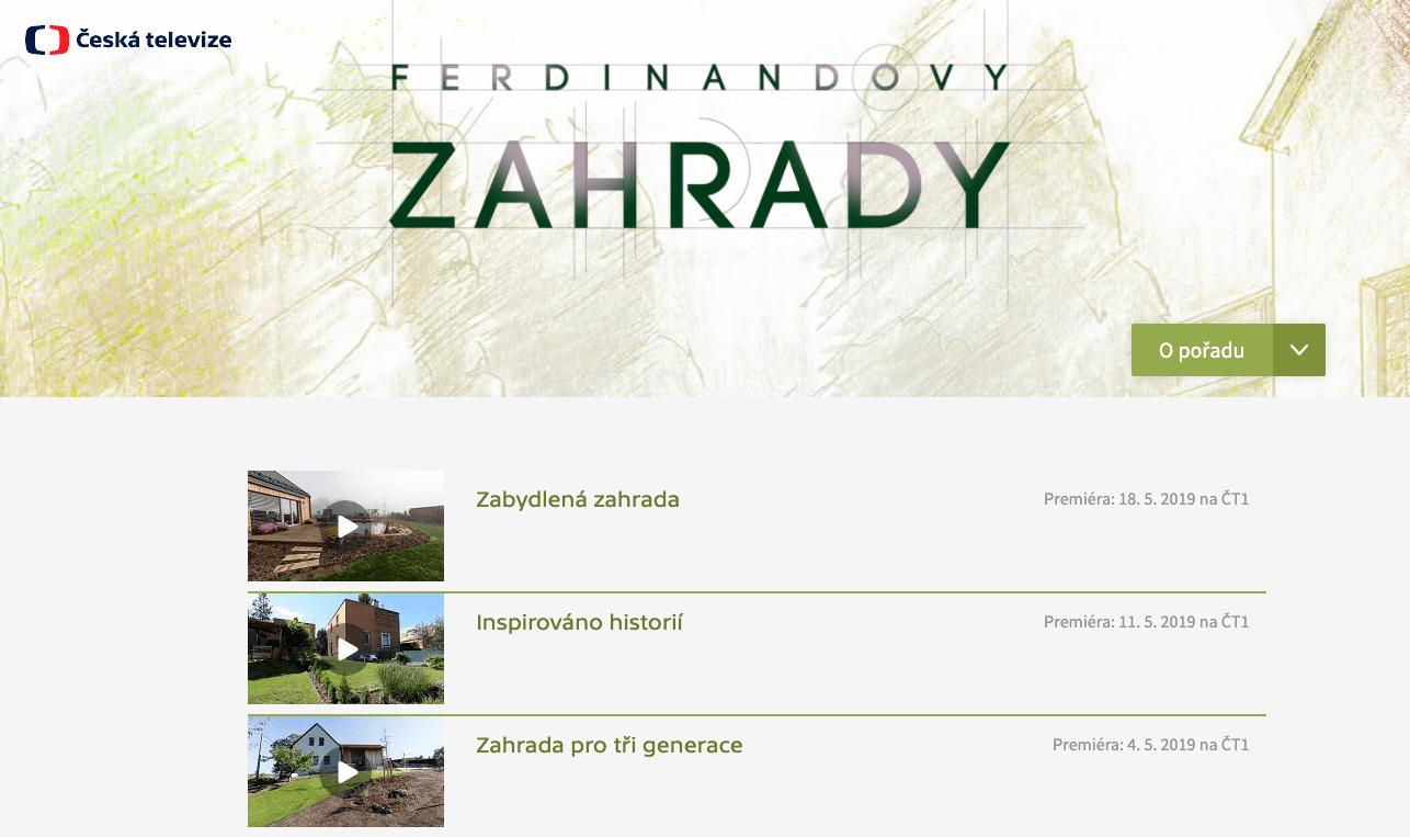 Ferdinandovi zahrady online recenze