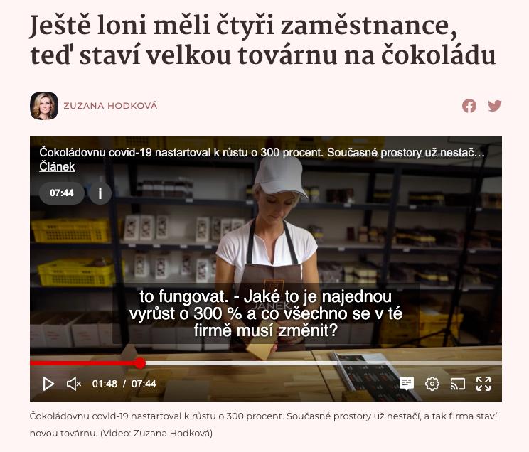 čokoládovna JANEK e-shop