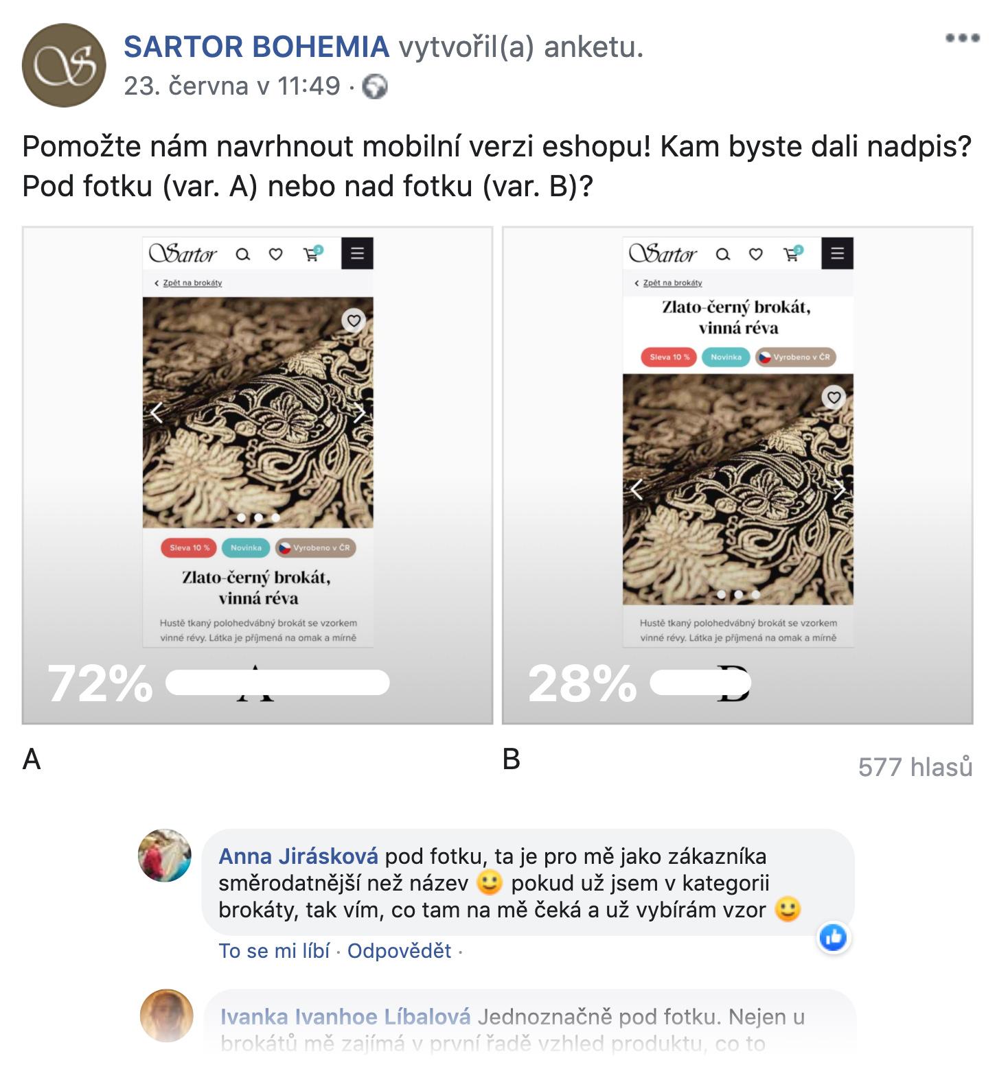Návrh e-shopu